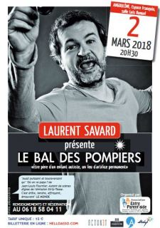 Spectacle de Laurent Savard , 2 mars 2018, Espace Franquin
